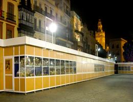 Kreamos publicidad alquiler de stands modulares o casetas for Casetas para exterior
